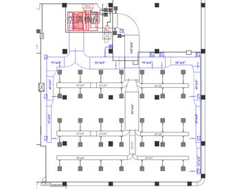 空調管路平面圖繪製