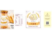 法樂公爵手工坊-卡滋棒標籤貼紙設計