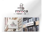 roroca 商標與名片設計