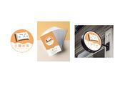日曬枕頭logo+名片