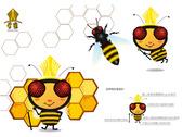 首璽團隊吉祥物-蜜蜂形象設計