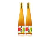 秋釀果醋瓶標設計