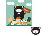台灣黑熊與台灣美食