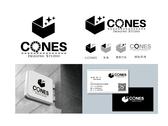 CONES 商業影像公司LOGO設計-B