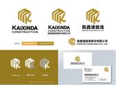 凱鑫達營造股份有限公司 LOGO設計-C