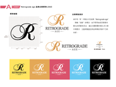 Retrograde age 品牌設計