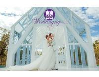 婚禮背板, 大圖輸出-冠筑藝術廣告