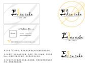 Erica cake logo&名片正反
