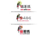 瞞著媽logo + 啄木鳥