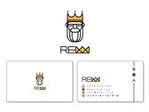 rexx logo 名片設計