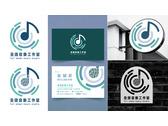 全譜-音樂工作室logo/招牌和名片