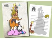臺灣動物明信片