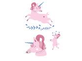 粉粉獨角獸