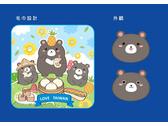 台灣黑熊3兄弟