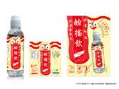 罐裝冷泡茶宣傳海報,標籤貼紙設計