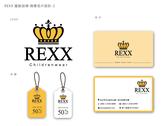 REXX童裝品牌 商標名片設計-2