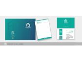 峰典室內設計-名片設計+合約書書封