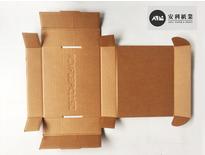 紙盒、披薩盒展開-安利紙業余先生