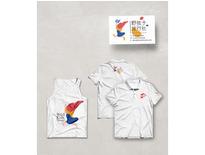 旅行社T恤插畫設計02-黑研創意事務